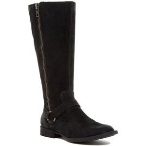 Born Women's Delall Tall Riding Boot Distressed 5
